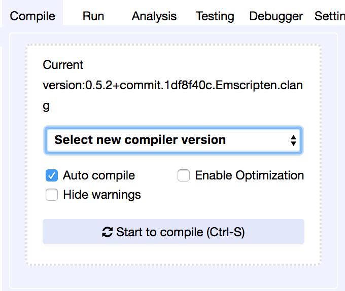 Compiler Version